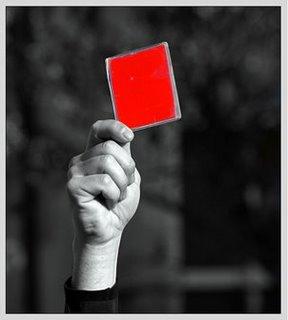 Resultado de imagem para cartao vermelho para o TST